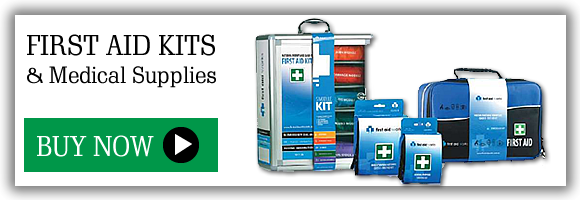 Buy first aid kits and medical supplies
